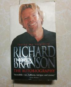 英文原版 RICHARD BRANSON THE AUTOBIOGRAPHY