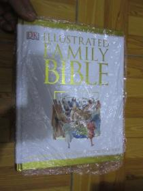 DK:Illustrated Family Bible    (外文原版)  大16開,硬精裝