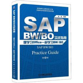 SAP BW/BO实战指南-像学习Office一样学习BW/BO