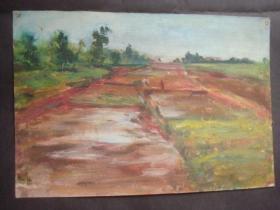 老油画31.....38*26厘米。创作时间不详