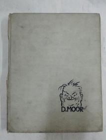 音未特里 斯塔席耶维奇 穆尔  俄文版  1954     借书卡有清华大学曾善庆签名多个