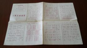 上海交通简图,1970上海出版革命组版