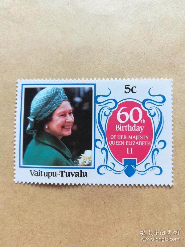 外国邮票 图瓦卢邮票Vaitupu 1枚(甲16-3)