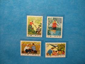 编号邮票82-85 赤脚医生1套(新邮票)
