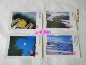 思念明信片:共4张——福建省周宁邮电局发行