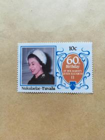 外国邮票 图瓦卢邮票Nukulaelae 1枚(甲16-5)