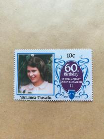 外国邮票 图瓦卢邮票Nanumea 1枚(甲16-5)