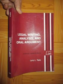 Legal Writing, Analysis, and Oral Argument    (法律写作、分析和口头辩论)