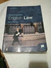 Smith & Keenans English Law(14th Edition) 史密斯基南英国法(英文原版)