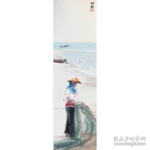 蒋夫原创油画惠安女