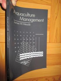 Aquaculture Management       【详见图】