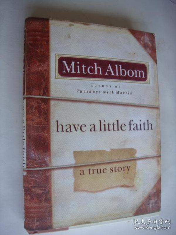 Have a Little Faith: A True Story 精装毛边本