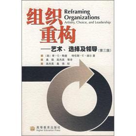 组织重构——艺术、选择及领导(第三版)