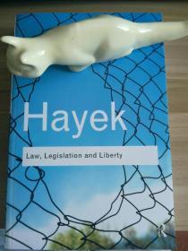 Law,Legislation and Liberty(Hayek代表作,中译本《法律、立法与自由》,哈耶克著,邓正来译)