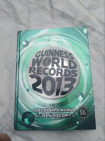 GUINNESSWORLDRECORDS2013------ (精装本,品好)                          (大16开)   《113》