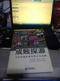 成败探源:当代中国企业管理全景案例