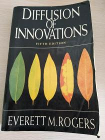 Diffusion of Innovations, 5th Edition 第五版   【英文原版,品相佳】