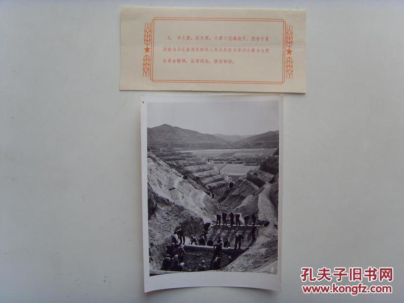 老照片:【※1965年,宁夏隆德县联财公社,社员们修建梯田※】