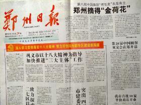 郑州日报2012年11月29日