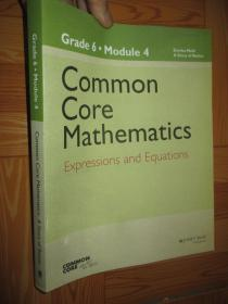 Common Core Mathematics,:A Story of Ratios: Grade 6, Module 4     【详见图】