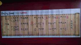 2008年8月26《辽沈晚报》奥运闭幕典藏特刊 奥运史记 连体报纸.