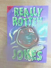 英文原版儿童笑话图书:Really Rotten Jokes  (装订方式如图所示)