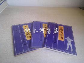 功家秘法宝藏  卷二硬形气功3册:金刚铁板功、千钧坠底功、天罡桶子功