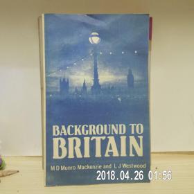 英文版《英国背景》新版