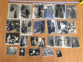 50年代日本儿童照片25张合售