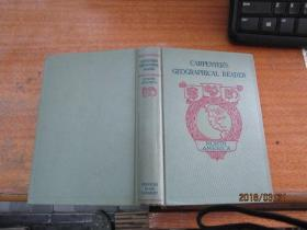 1898年版 CARPENTERS GEOGRAPHICAL READER