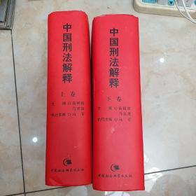 中国刑法解释(上下)