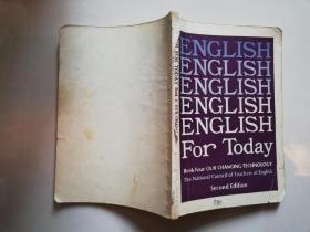 ENGLISH  FOR TODAY book 4:our vhanging technology