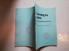 【馆藏书】Learning to listen