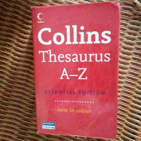 Collins Thessurus A-Z (ESSENTIAL EDITION )