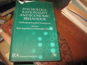 PSYCHOLOGY , RATIONALITY AND ECONOMIC BEHAVIOUR