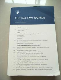 THE YALE LAW JOURNAL MAY 2018