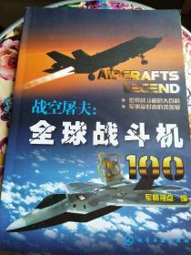 战空屠夫: 全球战斗机  100(16开画册)品好