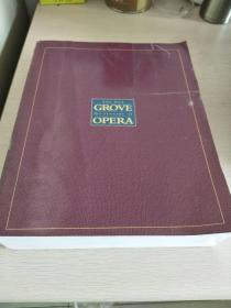 The New Grove Dictionary of Opera  【英文原版,16开,厚逾1300页,品相佳】
