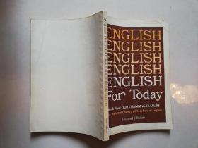 ENGLISH FOR TODAY book 5:our changing culture