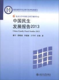 中国民生发展报告2013