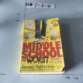 英文原版:Middle School, The Worst Years of My LifePatterson,James