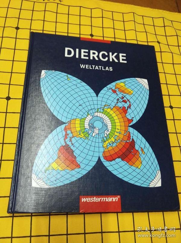 DIERCHE WELTATLAS(德文原版)