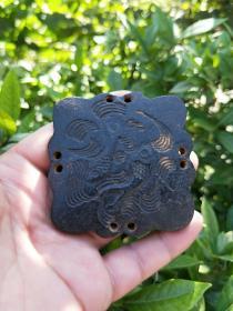 【保真】红山文化铁石陨铁石箭头【如鱼得水】把件,老玉件,老物件,可吸磁铁,尺寸重量看图。