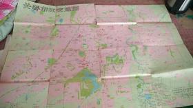 长春市区交通图 1990年8月第一版一印