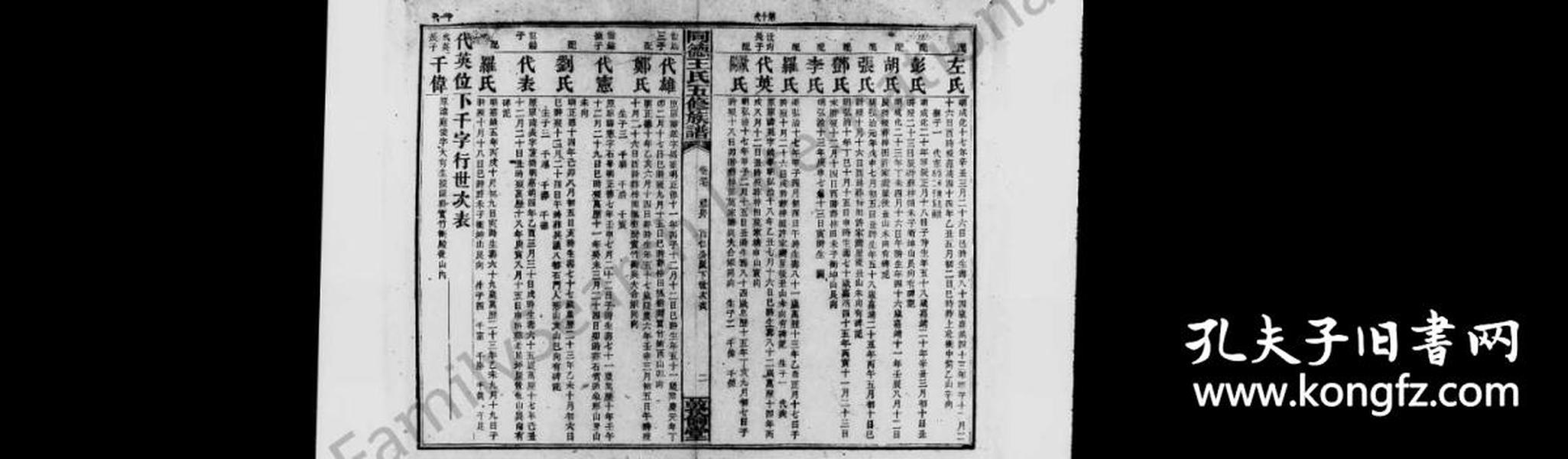 三塘周氏五续族谱 [8卷,首1卷]