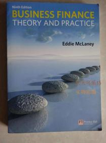 business finance theory and practice 9th Eddie McLaney正版
