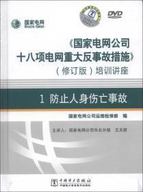 《國家電網公司十八項電網重大反事故措施》培訓講座1:防止人身傷亡事故(修訂版)(DVD光盤2張)