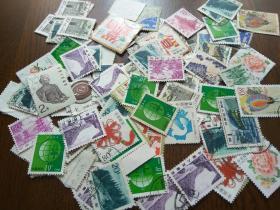 中国邮票一堆2