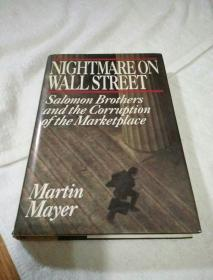 NIGHTMARE ON WALL STREET--Salomon Brothers and the Gorruption of the Marketplace(华尔街的噩梦--萨洛蒙兄弟与市场腐败)英文原版