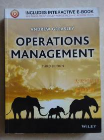 operations management Andrew Greasley 3e 正版  第三版
